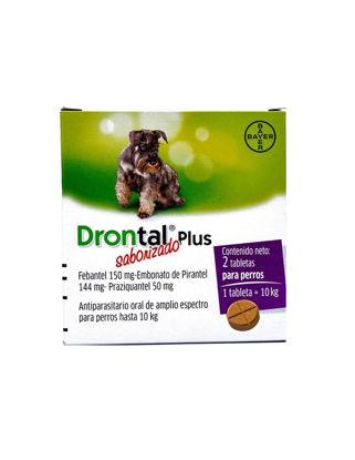 Imagen de Drontal Plus 10 Kg Clinico  2 Comp Un
