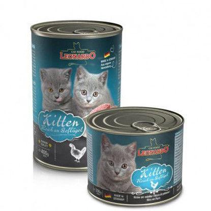 Imagen de Leonardo Latas Quality Selección Kitten 200 Gr