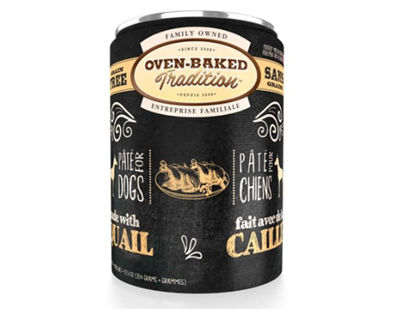 Imagen de Oven Baked Tradition Quail Pate Canned Dog Food