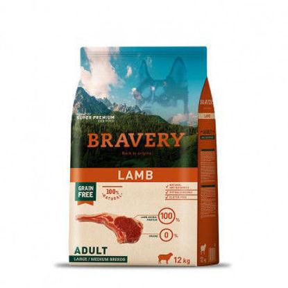 Imagen de Bravery Lamb Adult Large/Medium Breeds
