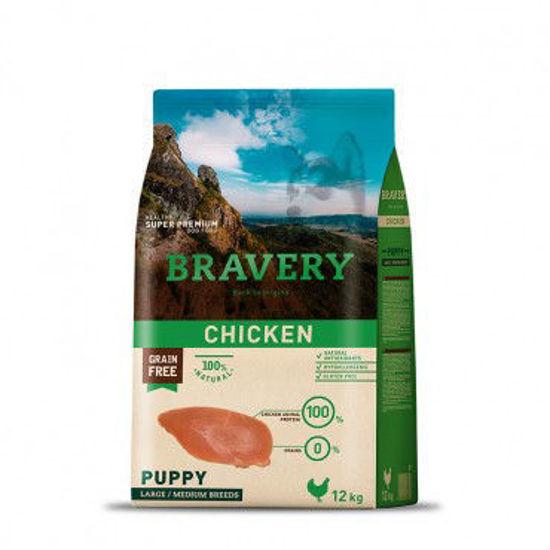 Imagen de Bravery Chicken Puppy Large/Medium Breeds