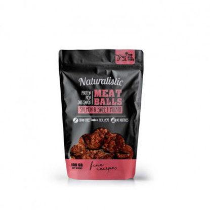 Imagen de Naturalistic Meatballs Salmon And Sweet Popato 100 Gr