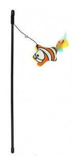 Imagen de Juguete Gato Varilla Nemo Naranja